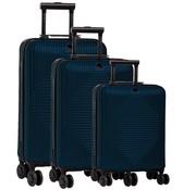 Fabrizio kofferset 37/60/98 liter blauw