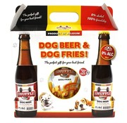 Snuffle Snuffle gift box hondenbier en patat