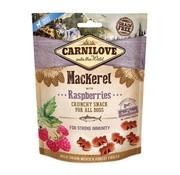 Carnilove Carnilove crunchy snack makreel / framboos