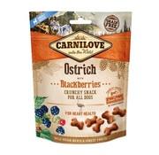 Carnilove Carnilove crunchy snack struisvogel / zwarte bes