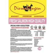 Merkloos Budget premium dogfood fresh salmon high quality