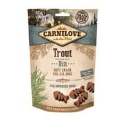 Carnilove Carnilove soft snack forel / dille