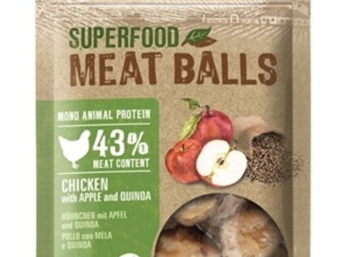 Gimdog Gimdog superfood meat balls kip / appel / quinoa