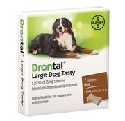 Bayer Bayer drontal ontworming hond l tasty
