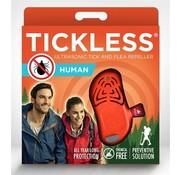 Tickless Tickless teek en vlo afweer voor mens fluoriserend oranje