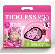 Tickless Tickless teek en vlo afweer voor baby's roze