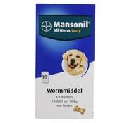 Mansonil Mansonil hond all worm tabletten