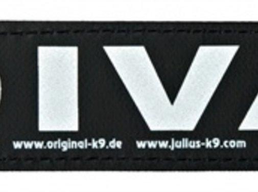 Julius k9 Julius k9 labels voor power-harnas / tuig diva