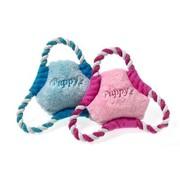 Karlie Karlie puppy frisbee roze of lichtblauw