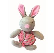 Little rascals Little rascals knottie bunny touwbal konijn roze