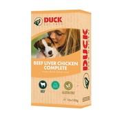 Duck 8x duck rund/lever/kip compleet