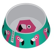 Ministry of pets Ministry of pets voerbak hond flamingo melamine