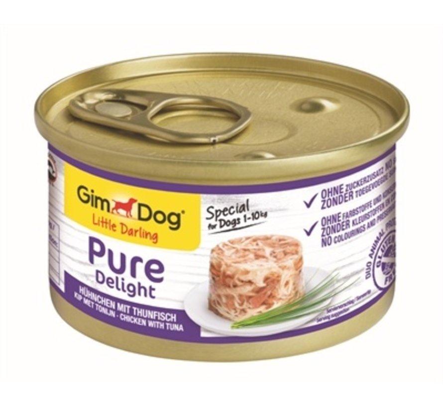 12x gimdog little darling pure delight kip / tonijn
