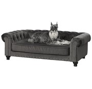 Enchanted pet Enchanted hondenmand / sofa wentworth charcoal grijs