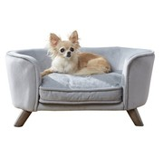 Enchanted pet Enchanted hondenmand / sofa romy grijs