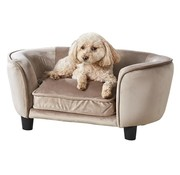 Enchanted pet Enchanted hondenmand / sofa coco stone lichtbruin
