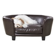Enchanted pet Enchanted hondenmand / sofa coco pebble bruin