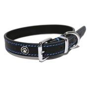 Rosewood Luxury leather halsband hond leer luxe zwart