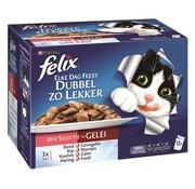 Felix 4x felix elke dag feest pouch dubbel zo lekker mix selectie in gelei