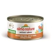 Almo 24x almo nature cat tonijn/kip