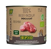 Biofood 12x biofood organic kat 100% rund blik