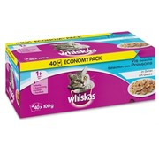 Whiskas Whiskas multipack pouch adult vis selectie in gelei