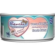 Renske 24x renske vers vlees maaltijd kat verse tonijn patÉ