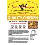 Merkloos Budget premium catfood quality chicken