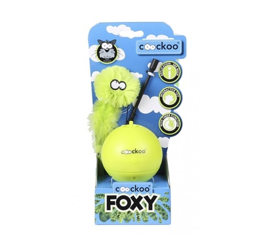 Coocky foxy magic ball lime