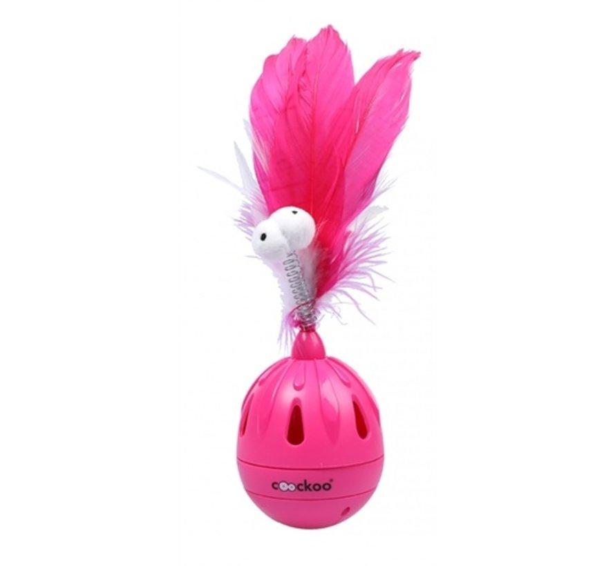 Coockoo cattoy tumbler tuimelaar roze