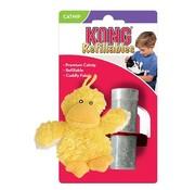 KONG Kong kat pluche eend geel catnip