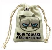Grumpy cat Grumpy catnip zak