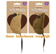 Jolly moggy Jolly moggy natural wild speelmuis groot met catnip assorti