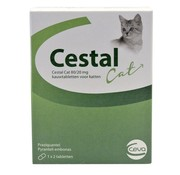 Ceva Ceva cestal cat 80/20 mg kauwtabletten
