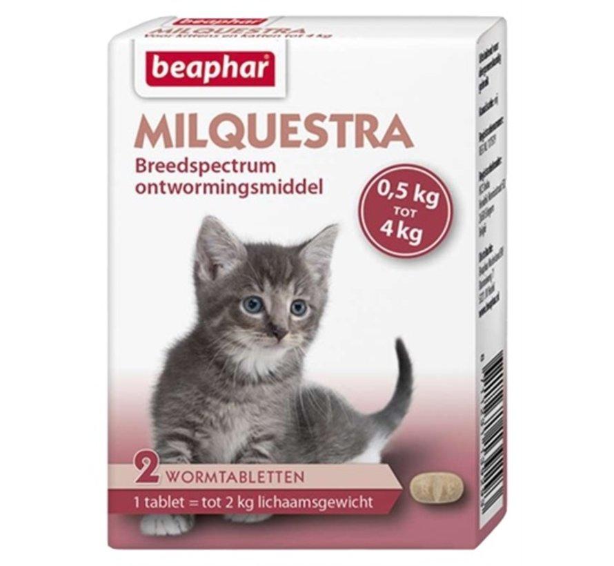 Beaphar milquestra kleine kat / kitten