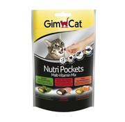 Gimcat Gimcat nutri pockets malt-vitaminemix kattenkruid / multivitamine