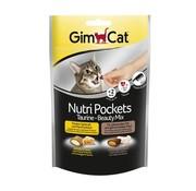 Gimcat Gimcat nutri pockets taurine-beautymix kaas / taurine