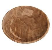 Tarhong Tarhong voerbak kat olive melamine houtprint