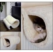 Rosewood Rosewood radiator tunnel voor kat wit