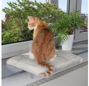 Trixie Trixie kattenmand plateau vensterbank lichtgrijs