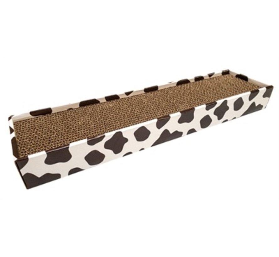 Croci krabplank homedecor dierenprint koe