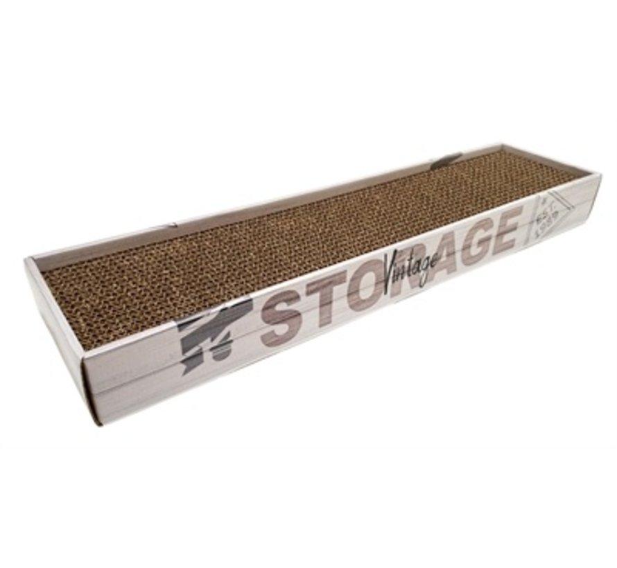 Croci krabplank homedecor rovere houtprint grijs