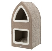 Trixie Trixie krabpaal cat tower marcy bruin / creme