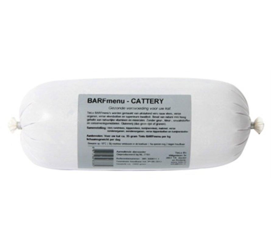 Barfmenu cattery kattenvoer