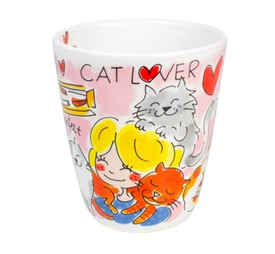 Blond amsterdam mok cat lover