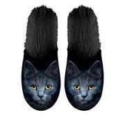 Plenty gifts Plenty gifts pantoffel kat zwart
