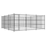 Hondenkennel voor buiten 450x450x185 cm