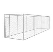 Hondenkennel voor buiten 8x2x2 m