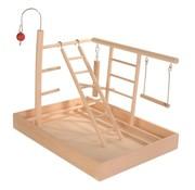 Trixie Trixie speelplaats hout voor kanarie en parkiet