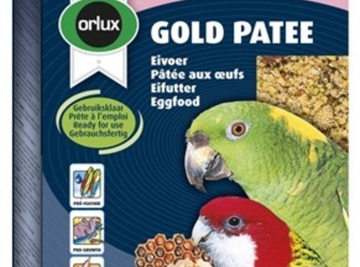 Orlux Orlux gold patee eivoer grote parkiet/papegaai